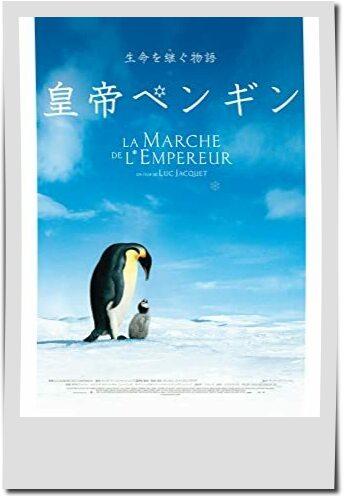 親子で観たい動物映画ランキング第10位皇帝ペンギン