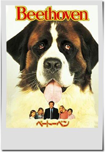 親子で観たい動物映画ランキング第9位ベートーヴェン
